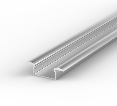 LED 2 Metre Recessed Profile P6 - 1 - 7.65mm x 15mm