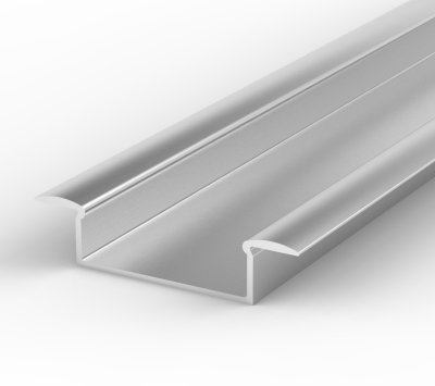 LED 2 Metre Wide Recessed Profile P14 - 1 - 10.65mm x 30.8mm