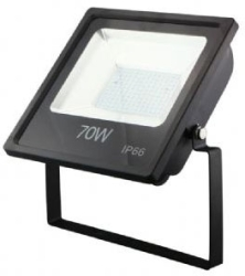 This is a 70W Flood Light bulb that produces a Daylight (860/865) light which can be used in domestic and commercial applications
