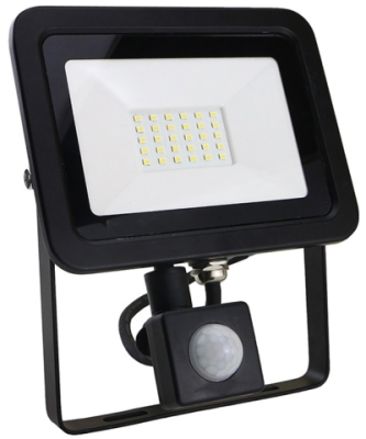 LED Floodlight 20w Warm White With PIR Sensor (160 Watt Alternative)