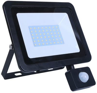 LED Floodlight 50w Daylight With PIR Sensor (400 Watt Alternative)