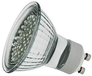 LED GU10 Cluster 2 Watt Cool White (5 Watt Alternative)