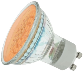 LED GU10 Cluster Orange 2W (48 LEDs) (5W Alternative)