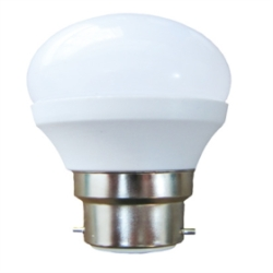 LyvEco 6W Non-Dimmable G45 Golfball B22 LED Bulb Very Warm White