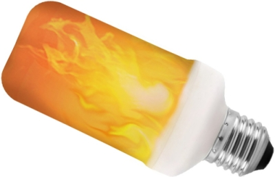LyvEco Gravity Flicker Flame Effect LED 240 Volt 5 Watt Edison Screw