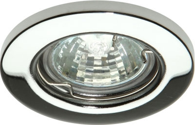 This is a Polished Chrome finish light fitting that has a diameter of 60mm and takes a 2 Pin light bulb produced by Knightsbridge