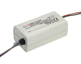 Mean Well Constant Current IP42 APC-16 16W 24V LED Driver