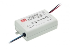 Mean Well Constant Current IP42 APC-35 35W 50V LED Driver
