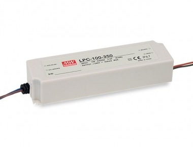 Mean Well Constant Current IP67 LPC-100 100.1W 286V LED Driver