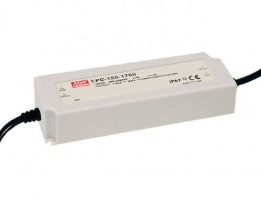 Mean Well Constant Current IP67 LPC-150 151.9W 62V LED Driver