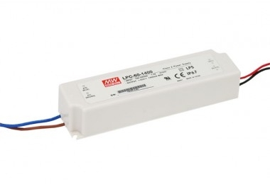 Mean Well Constant Current IP67 LPC-60 60W 34V LED Driver
