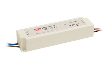 Mean Well Constant Voltage IP67 LPV-100 100W 15V LED Driver