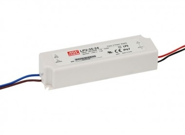 Mean Well Constant Voltage IP67 LPV-35 35W 24V LED Driver