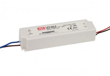 Mean Well Constant Voltage IP67 LPV-60 60W 15V LED Driver