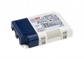 Mean Well Dimmable Constant Current LCM-25 25W LED Driver