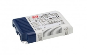 Mean Well Dimmable Constant Current LCM-40 42W LED Driver