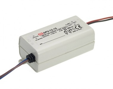 Mean Well Non-Dimmable Constant Voltage IP42 APV-12 10W 5V LED Driver