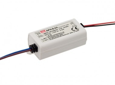 Mean Well Non-Dimmable Constant Voltage IP42 APV-8 10W 24V LED Driver