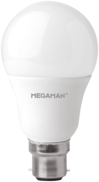 Megaman Dimmable 9.5W B22 LED GLS Bulb Warm White (80W Equivalent)