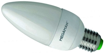 Megaman LED Opal Candle 3.5W ES Warm White (25 Watt Alternative)