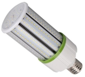Meridian 40W IP54 GES LED Corn Lamp for Enclosed Fittings Cool White (120W Equiv)