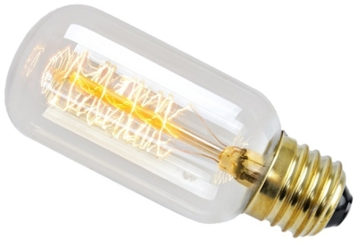 This is a 30 W 26-27mm ES/E27 Tubular bulb that produces a Very Warm White (827) light which can be used in domestic and commercial applications