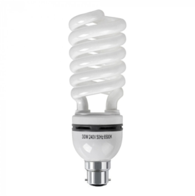 MiniSun 30w BC Energy Saving Spiral Bulb in Daylight