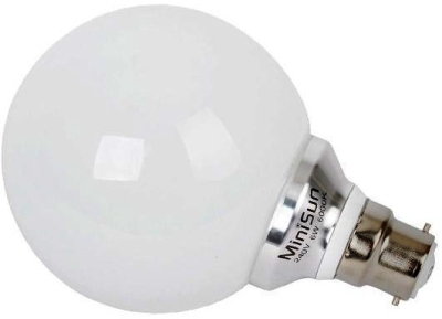 MiniSun 6W LED BC Globe Lamp Daylight (60W Alternative)