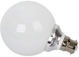 MiniSun 6W LED BC Globe Lamp Warm White (60W Alternative)