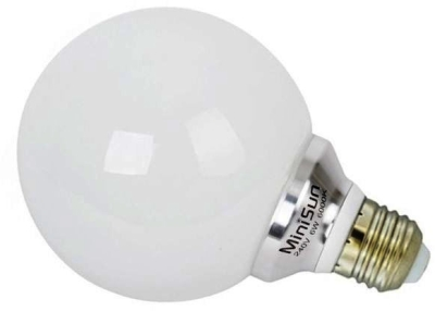 MiniSun 6W LED ES Globe Lamp Daylight (60W Alternative)