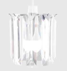 MiniSun Acrylic Icicle Non Electric Pendant Shade
