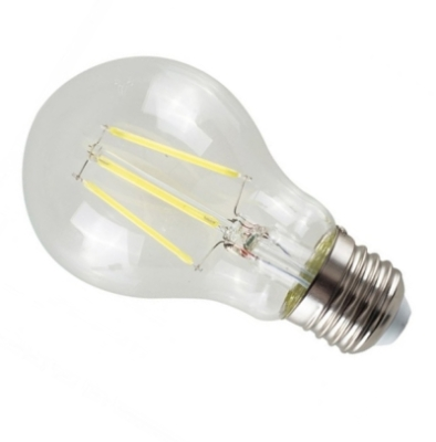 MiniSun Daylight E27 4W LED Filament Clear GLS Bulb