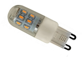 MiniSun Dimmable LED G9 3W Daylight (25 Watt Alternative)