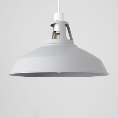MiniSun Howell Grey Metal Cut Out Retro NE Pendant Shade