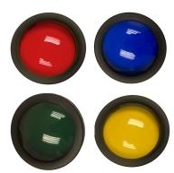 NightSearcher Coloured Filters for Panther XHP/XHP-X (Blue/Green)