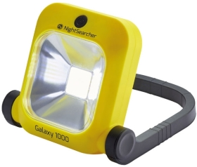 NightSearcher Galaxy 1000 Lightweight Rechargeable LED Floodlight IP54 + USB Charging Cable