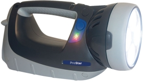 NightSearcher ProStar Professional 12760 Lumen Rechargeable Searchlight