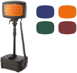 NightSearcher Set of 4 Diffused Colour Filters for Floodlight Range