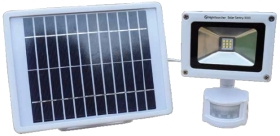 NightSearcher SolarSentry 1000 Lumen Solar Powered Security Light