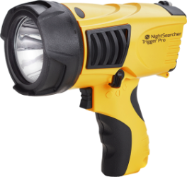 NightSearcher Trigger Pro Rechargeable LED Searchlight