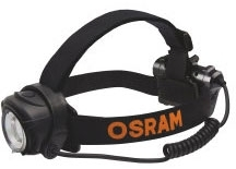 Osram LEDinspect 3xAA Battery Headlamp Flashlight Daylight (Black Finish)