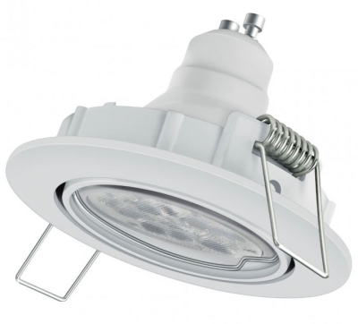 This is a 6W Downlight bulb that produces a Tunable White light which can be used in domestic and commercial applications