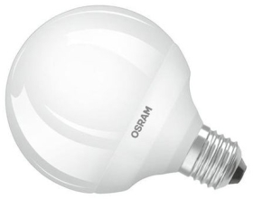 Osram Parathom Pro 9W Frosted ES Globe (60W Alternative) Very Warm White