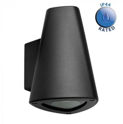 Outdoor IP44 GU10 Down Light Wall Light Black