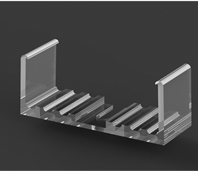 P13 Clear Plastic Strip Profile Mounting Bracket