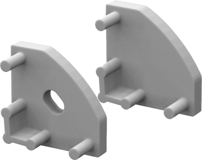 P3 Strip Corner Profile End Cap Set