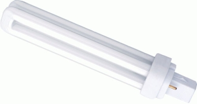 PLC 2 Pin Compact Fluorescent Lamp 18 watt Cool White 840
