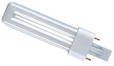 PLS Compact Fluorescent Lamp 5 watt Warm White 830