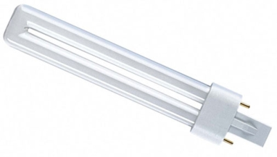 PLS Compact Fluorescent Lamp 7 watt Very Warm White 827