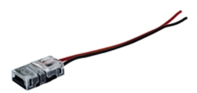 Pack Of 5 Connectors with Wire for 8mm Width Side Emitting LED Strip
